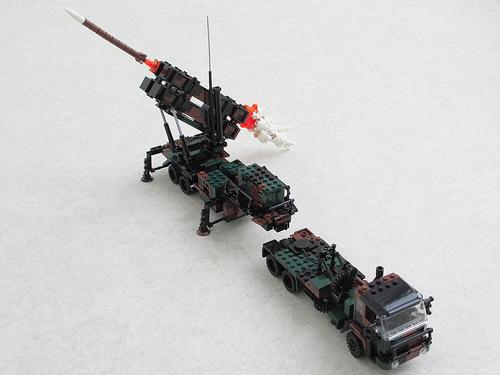 Patriot missile TEL