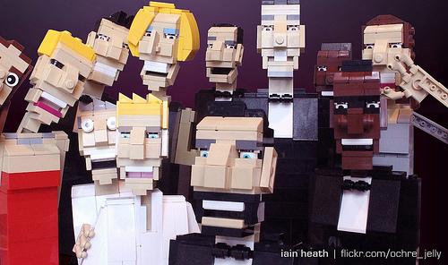 Ellen's Oscar selfie - LEGO edition!