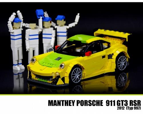 LEGO Porsche 911 GT3 RSR