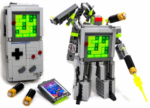 LEGO Game Boy Transformer