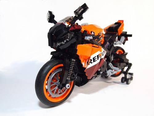 LEGO Honda Repsol motorbike