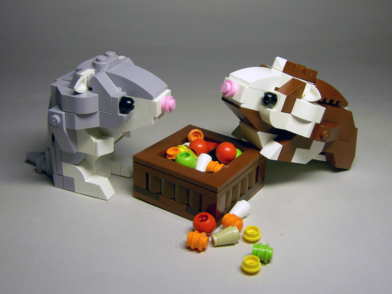 LEGO rodents
