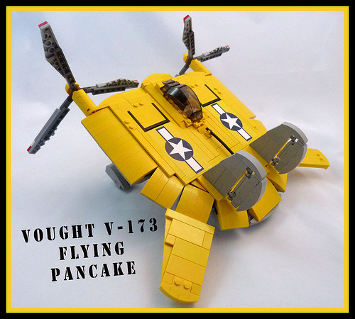 "Vought V-173 ""Flying Pancake"""