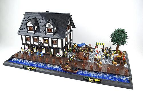 Black Swan Tavern on Market Day