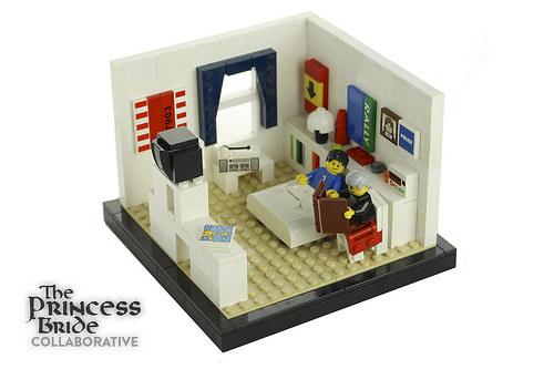Fred Savage's Bedroom (Princess Bride Collab)
