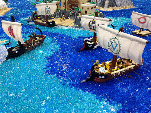 Greek Fleet by Matt Rowntree 7/55