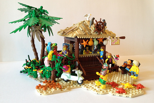 Beach Fruit Hut