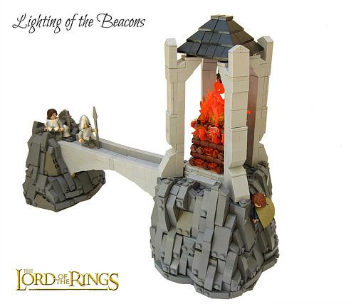 Lighting of the Beacons