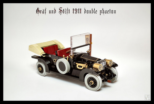 Gräf & Stift 1911 double phaeton