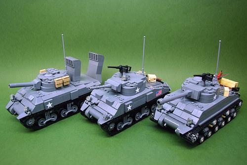 M4 Sherman medium tanks - V2