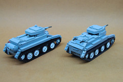 Soviet BT series cavalry tanks (2)