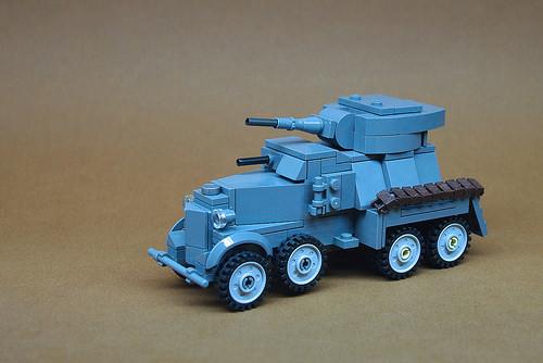 Soviet BA-6 Armored Car (1)