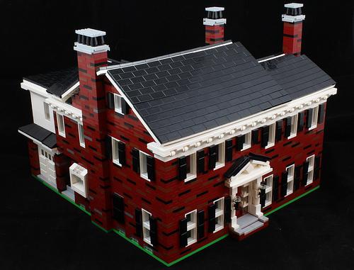 Lego Shaker House 1