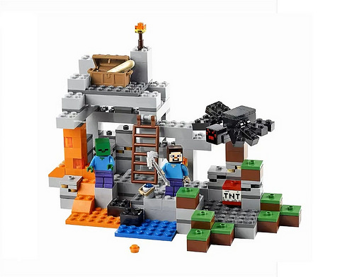 LEGO Minecraft The Cave (21113)