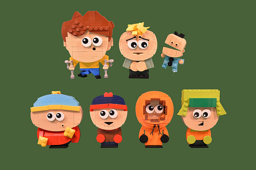 7 South Park Characters
