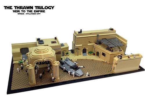 Thrawn Trilogy - Heir of the Empire - Myrkr - Hyllyard City