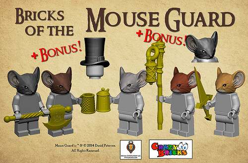 Bricks of the Mouse Guard - What do you get?
