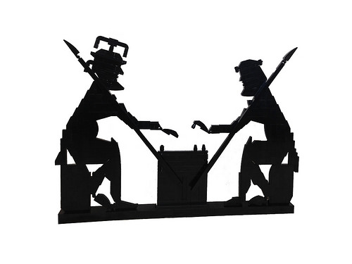 The Strategists (Achilles and Ajax playing draughts)