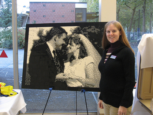 LEGO Mosaic Wedding