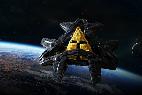 Goa'uld Ha'tak (Edited Pictures)