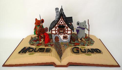 LEGO Mouse Guard