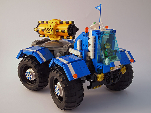 4x4 Greeble Transporter