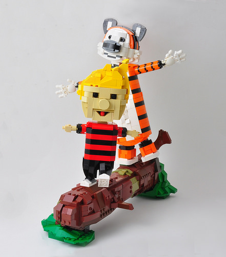 Calvin and Hobbes; Adventure!
