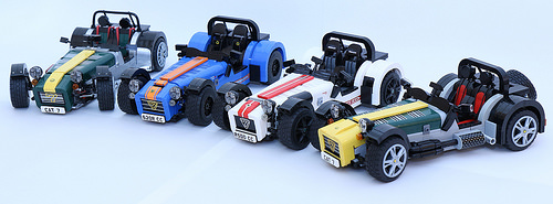 Interview With Carl Greatrix Creator Of The Caterham 7 Lego Ideas
