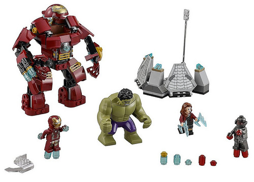 76031 The Hulk Buster Smash