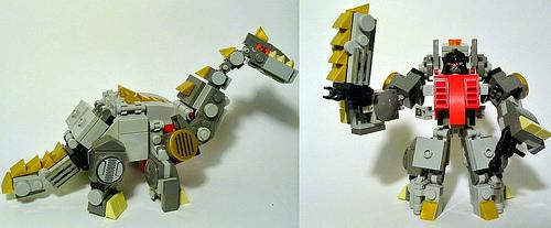 Sludge: Dino and Robot mode