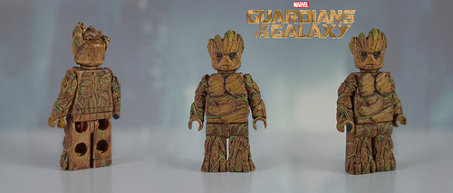 Lego Custom Groot ( Guardians of the Galaxy ) Minifigure!