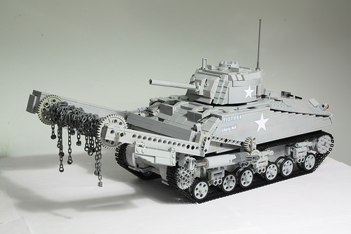 Lego M4 Sherman Crab (RC)