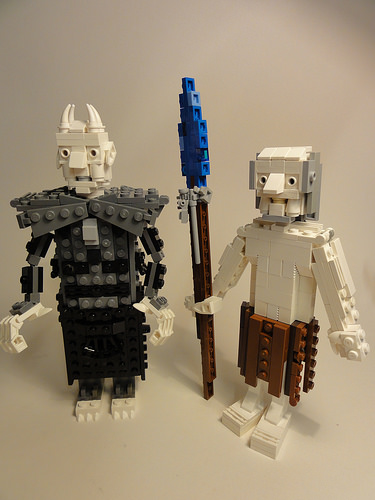 LEGO Nights King and White Walker