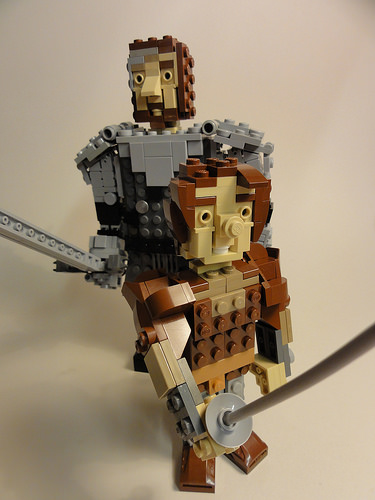LEGO Arya Stark and The Hound