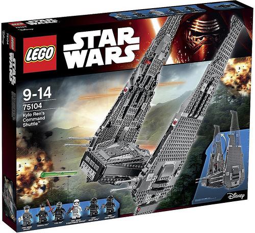 75104 Kylo Ren's Commander Shuttle