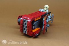 75099 Rey's Speeder (7)