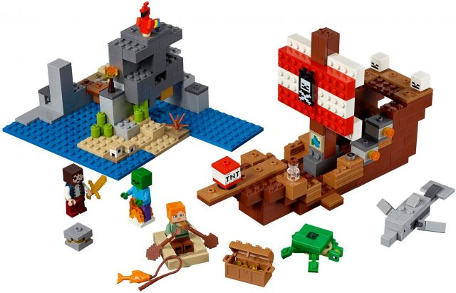 Lego Minecraft Series Expands In 2019 With Bigfigs News The Brothers Brick The Brothers Brick