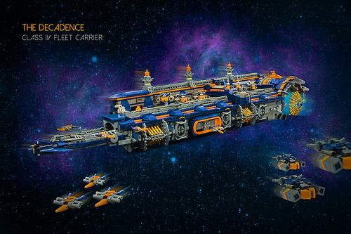 The Decadence - Class IV Fleet Carrier