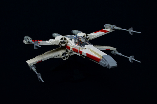 Mike Psiaki X-wing (75102 refit)