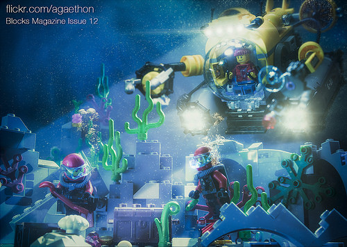 Deep Sea Exploration: Blocks Magazine Issue 12