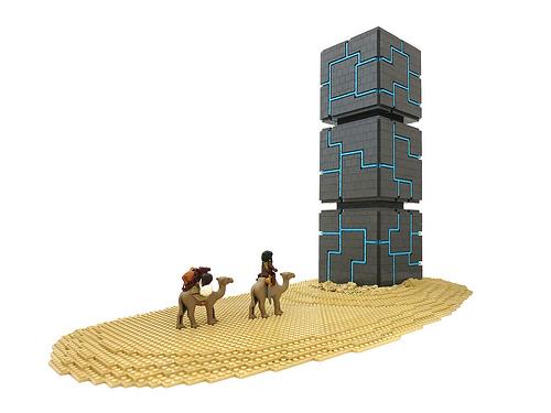 Desert Monolith