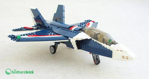Lego set 31039, Blue Power Jet