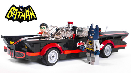 1966 Batmobile (with figures)