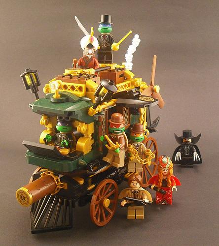 Steam Age Mutant Ninja Turtles