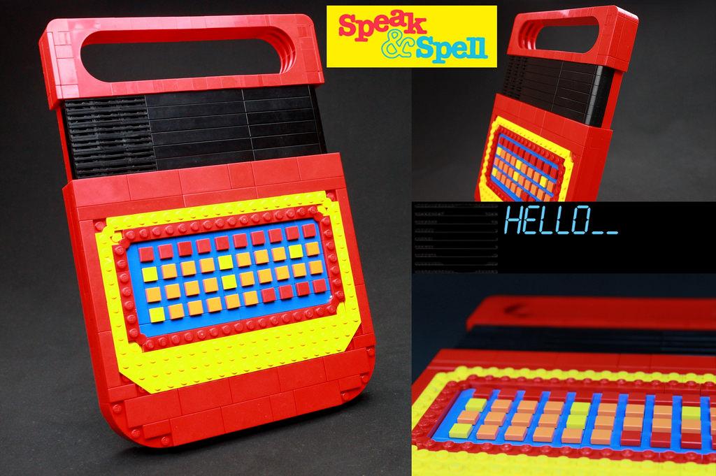 LEGO Speak & Spell