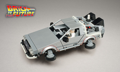 2015 Delorean Time Machine Front