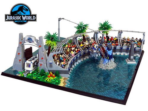 Jurassic World by Paul Trach