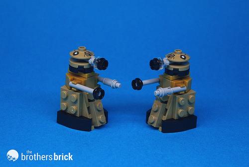 LEGO Dalek breakdown (1)
