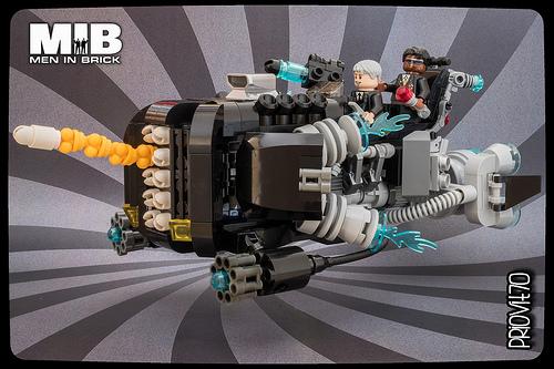 Men in Brick's speeder