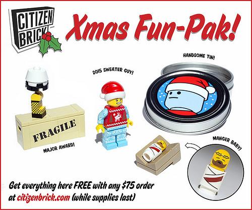 Citizen Brick Xmas Fun-Pak
